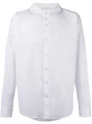 Lucio Vanotti Spread Collar Shirt White