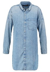Maison Scotch Denim Dress Denim Blue Blue Denim