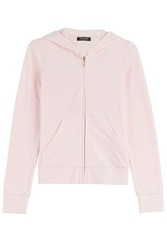 Juicy Couture Paradise Velour Hoodie Rose