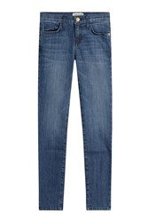Current Elliott Skinny Jeans Blue