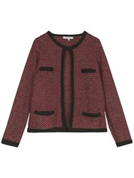 Gerard Darel Miro Alpaca Jacket Red