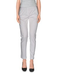 .. Merci Trousers Casual Trousers Women White