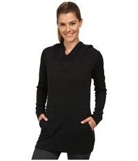 Lole Call You Tunic Black Women's Long Sleeve Pullover