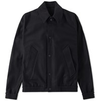 Ami Alexandre Mattiussi Unlined Snap Jacket Black