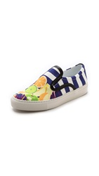 Mother Of Pearl Achilles Slip On Sneakers Fruit