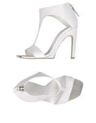 Vic Matie Vic Matie' Footwear Sandals Women White