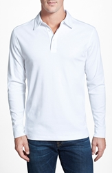 Cutter And Buck 'Belfair' Pima Cotton Polo Big And Tall White