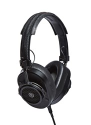 Music Master And Dynamic Mh40 Over Ear Headphones Black