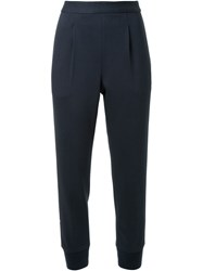Muveil Tapered Trousers Blue