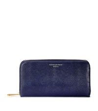 Aspinal Of London Continental Clutch Wallet Unisex Navy