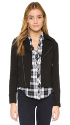 Soft Joie Birte Moto Jacket Caviar