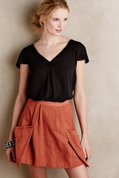 Maeve Melon Mix Top Black