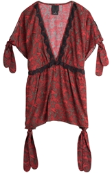 Anna Sui Printed Tunic Top