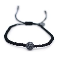 Gideon John Jewellery Black Rhodium Lion Head