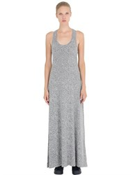 Alternative Apparel Printed Cotton Blend Jersey Maxi Dress