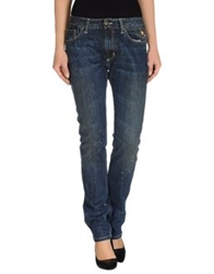 Hollywood Milano Denim Pants Blue