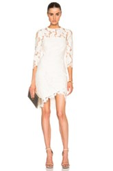 Lover Arizona Asymmetric Dress In White