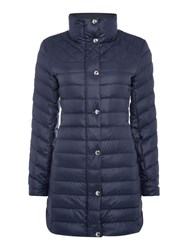 Gant Light Down Coat Blue