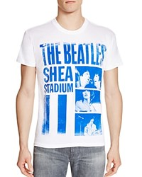 Bravado Shea Stadium Beatles Tee White