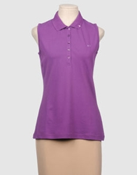 Sun 68 Polo Shirts Purple