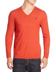 Polo Ralph Lauren Sportsman V Neck Sweater