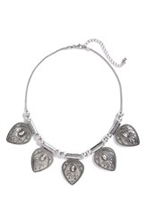 Junior Women's Zad Teardrop Statement Necklace