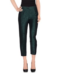 Mauro Grifoni Trousers Casual Trousers Women Dark Green