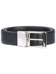 Ermenegildo Zegna Buckled Belt Black