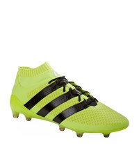 Adidas Ace 16.1 Primeknit Firm Ground Boots Male Yellow
