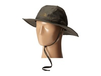 The North Face Hyvent Hiker Hat Black Ink Green Burnt Olive Green Caps