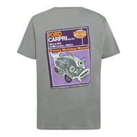 Weird Fish Ford Capri Artist Regular Fit T Shirt Steel