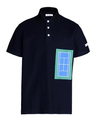 Umit Benan Polo Shirts Dark Blue