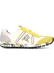 Premiata 'Lucy' Sneakers Yellow And Orange