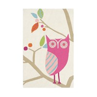 Harlequin What A Hoot Rug Candy 90X140cm