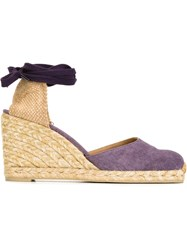 Castaner Castaner 'Carina' Wedge Espadrilles Pink And Purple