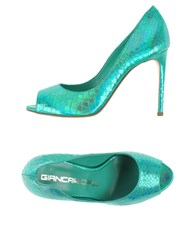 Giancarlo Paoli Footwear Courts Women Emerald Green