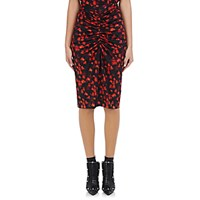 Givenchy Women's Tech Jersey Pencil Skirt Black Red No Color Black Red No Color