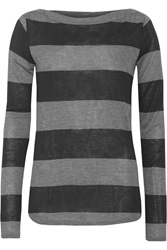 Ag Jeans Striped Jersey Top