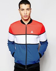 Le Coq Sportif Retro Track Jacket In Blue 1611365 Blue