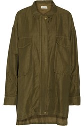 Rebecca Minkoff Beckals Canvas Jacket Army Green