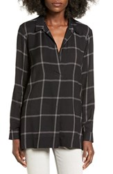 Lush Women's Plaid Tunic