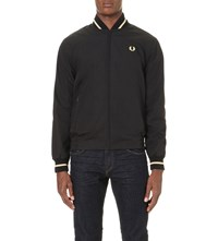 Fred Perry Made In England Tennis Bomber Jacket Black