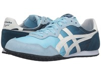 Onitsuka Tiger By Asics Serrano Crystal Blue Light White Women's Classic Shoes