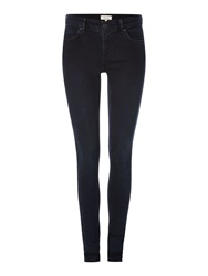 Linea Shoreditch Skinny Blue Black Jean Black And Blue