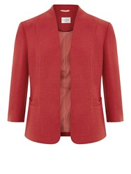 Eastex Bow Pocket Edge To Edge Jacket Red