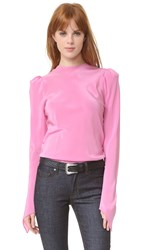 Natasha Zinko Long Sleeve Blouse Pink