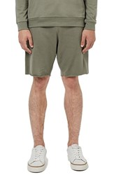Topman Men's Cutoff Jersey Knit Shorts