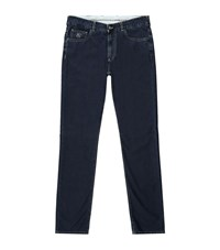 Canali Lightweight Jeans Male Navy