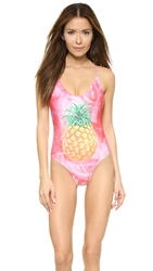Wildfox Couture Goin' To Miami Swimsuit Pink