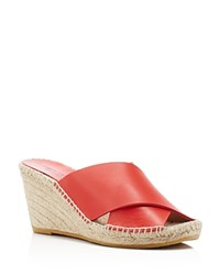 Bettye Muller Dijon Wedge Espadrilles Compare At 225 Red